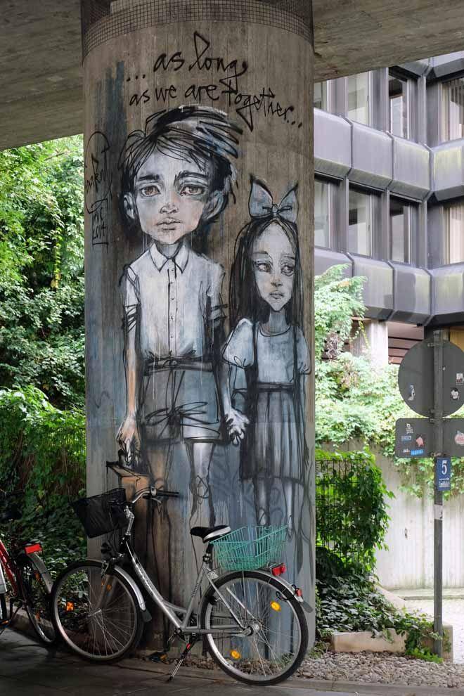 STREETART in München - Minza will Sommer