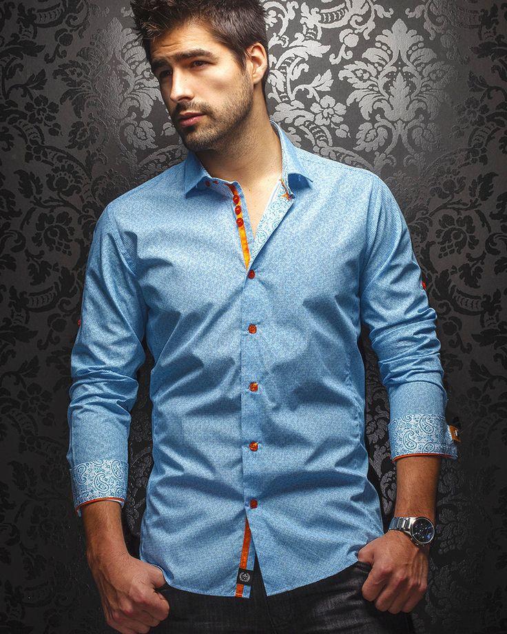 Au Noir Shirt - Zonovia Blue