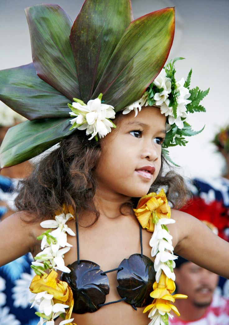 TAHITI | On a cruise in French Polynesia, this little Tahitian dancer came onboard to perform with a dance troupe. She captured our hearts!