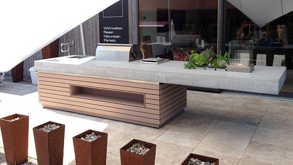 Outdoor-Küche   – Laura Hall