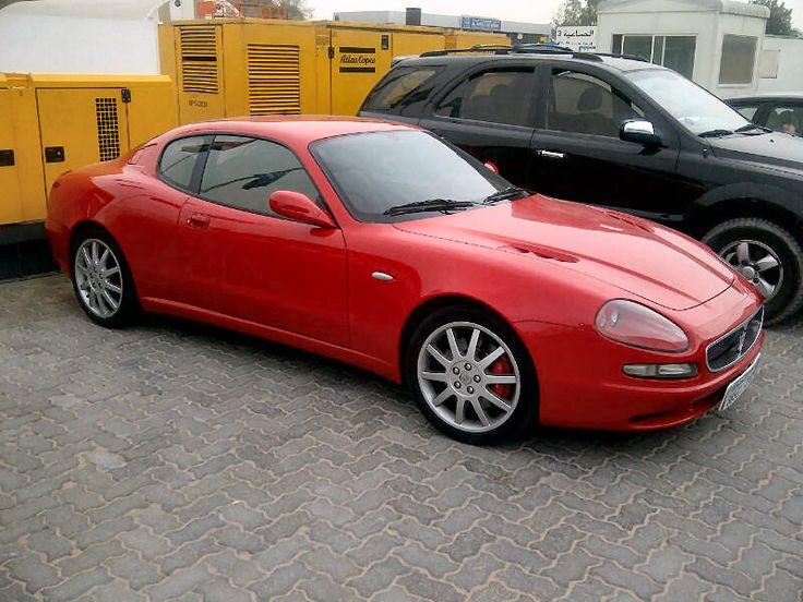 Red Maserati 3200 GT