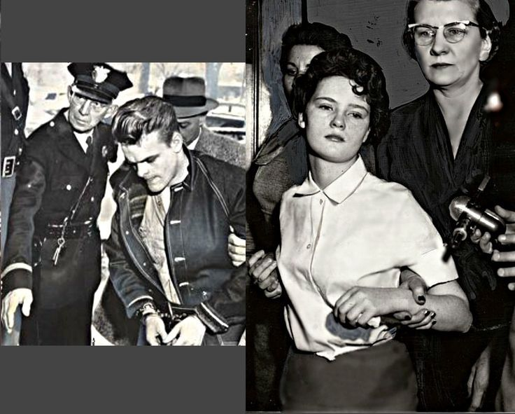 Teenage killers, Charles Starkweather & Caril Ann Fugate - These two maniacs killed 11 people