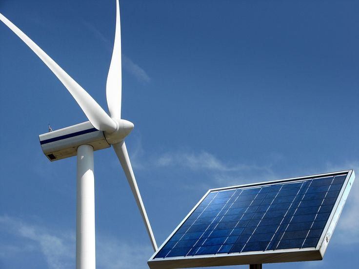 Las energías eólica, termosolar y fotovoltaica.