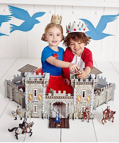 ELC Wooden Castle was £40 NOW £23 delivered at Tesco Direct  (£40 on Mothercare site)