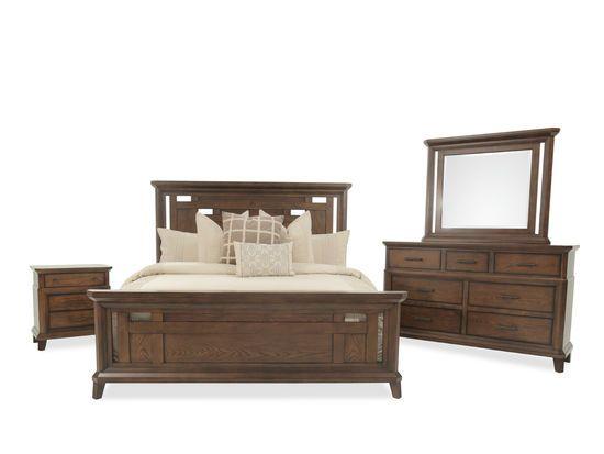Four Piece Mission Bedroom Set In Brown Sets Bedrooms Estes Park