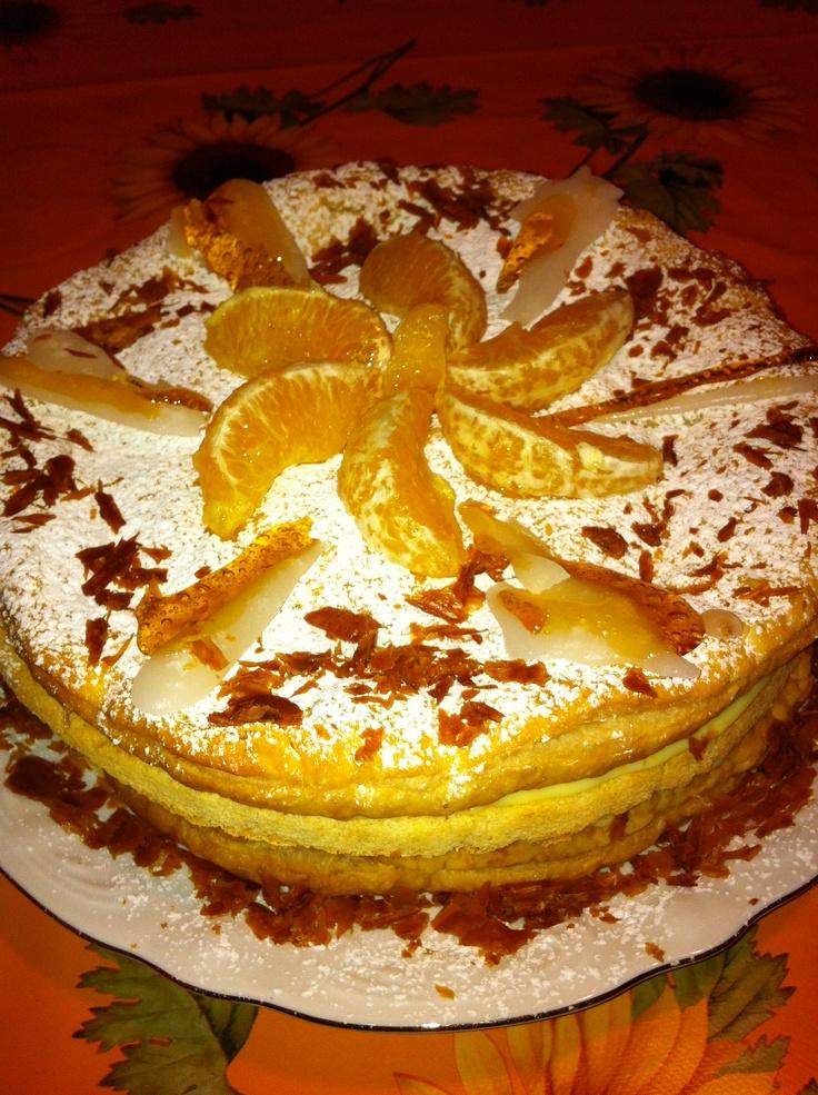 Millefoglie all'arancia