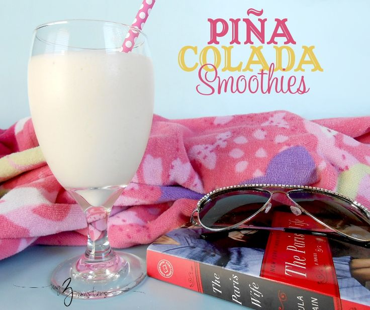 Pina Colada Smoothies...refreshing and delicious treat!