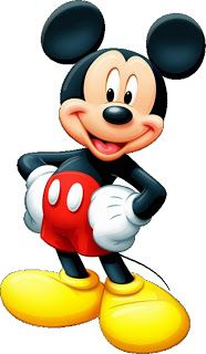 Imprimibles, imágenes y fondos de Minnie y Mickey 10.