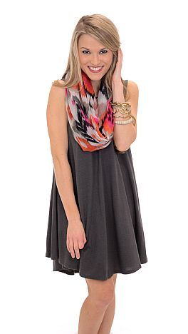 Just in Case Tunic, Grey