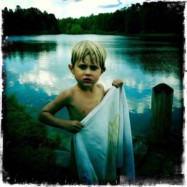 My sweet, yet devilish nephew, Burke.