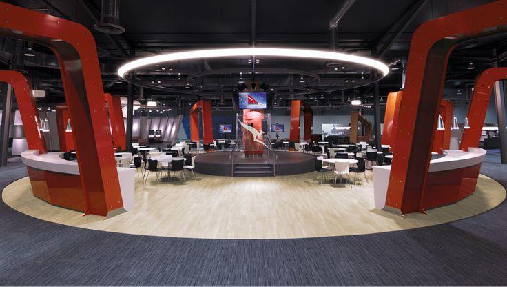 Qantas Centre of Service Excellence by e2.