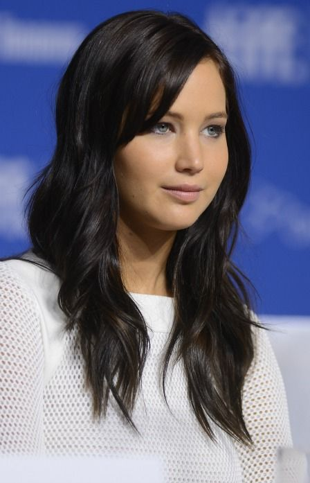 Jennifer Lawrence's New Dark-Brown Hair: If You Didn't Already Have A Girlcrush On Her, You Will Now: Girls in the Beauty Department
