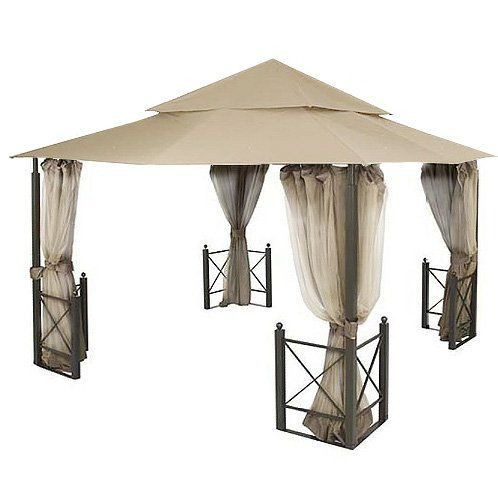 Garden Winds Replacement Canopy for Harbor Gazebo *** For more information, visit image link.