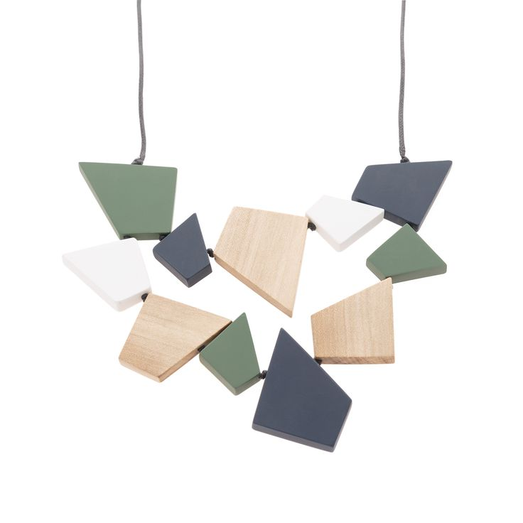 Buy the Toni Angular Necklace at Oliver Bonas. Enjoy free worldwide standard delivery for orders over £50.