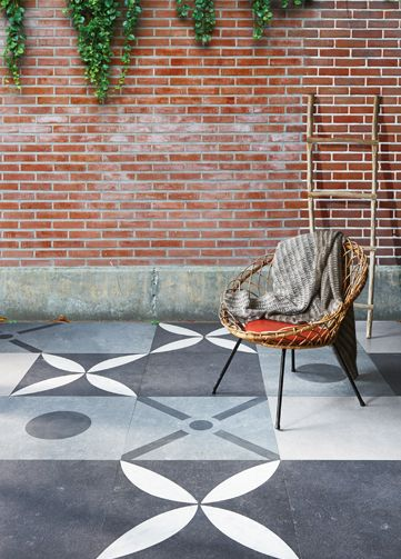 Mix Match je eigen terras | vtwonen buitentegels tuin terras outdoor tegels
