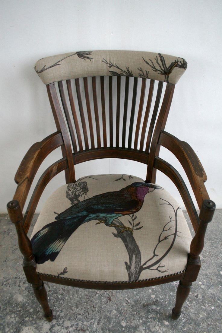Antique Bow Back Chair ~ Furniture - Timorous Beasties
