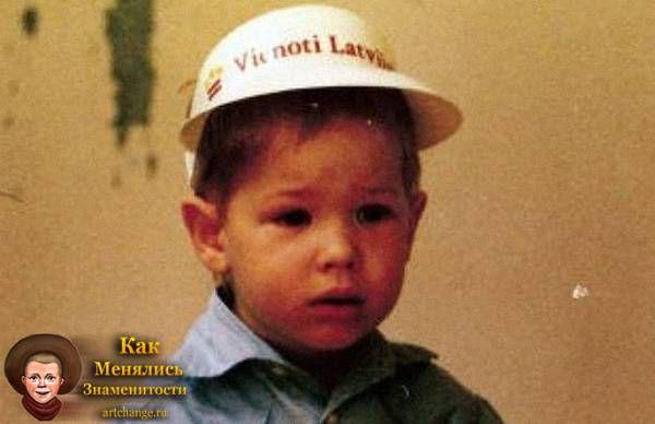 Стас Давыдов в раннем детстве, возрасте