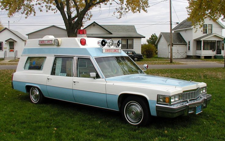 1977 Cadillac Sedan Deville Wagon / Ambulance