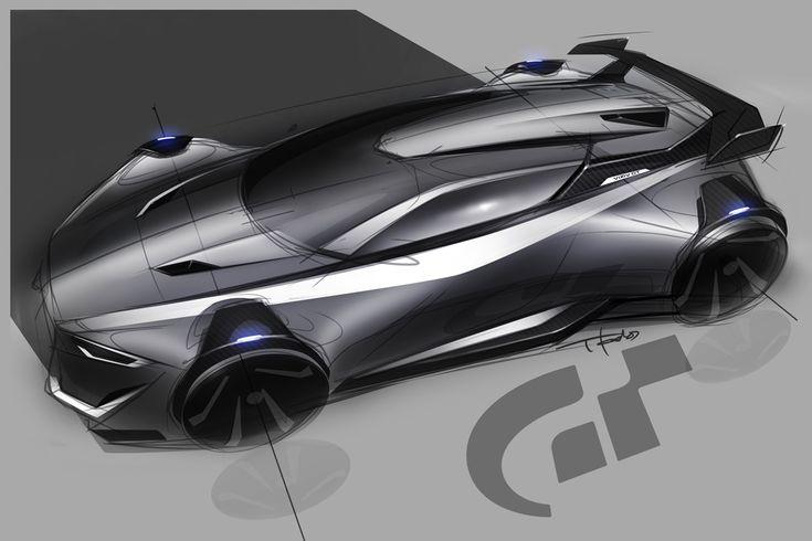 Subaru GT Vision Concept sketch