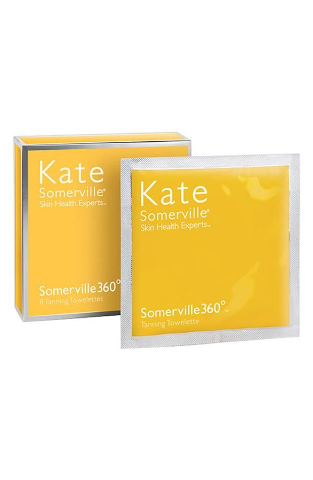 Which Self Tanners Are Worth the Buy?: Kate Somerville Tanning Towelettes, $48