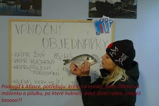 Dalsi prani :-)))) #ryby#kapr#vanoce#pazitka#vanocni prani