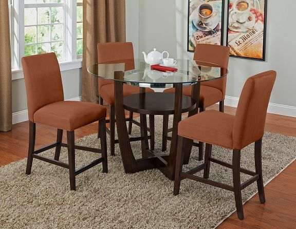 Alcove Orange II Dining Room Collection - Value City Furniture-Counter-Height Table $239.99