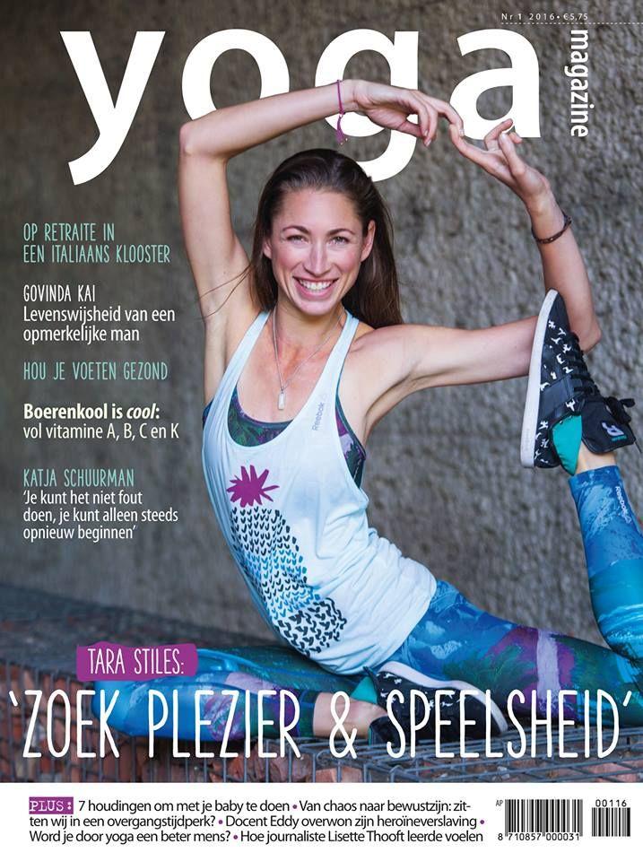 Yoga Magazine 2016 - 1 Tara Stiles: zoek plezier en speelsheid.