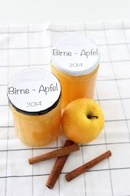 Birnen-Apfel-Konfitüre Marmelade by kebo homing 2014 (Vegan Dip Sweet)