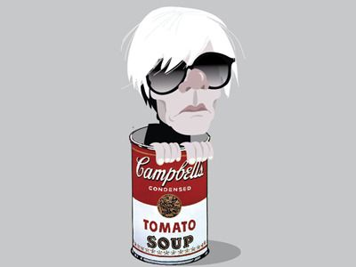 Andy in the soup