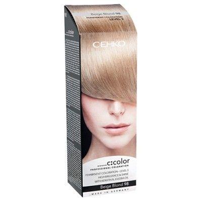 C:EHKO С:COLOR Крем-краска   Крем-фарба переконує своїми довгостроковими, насиченими і інтенсивно сяючими фарбами. Високоцінні масло жожоба і кератин зміцнюють структуру волосся і забезпечують чудовий результат фарбування. 100% зафарбування сивини. Тривала стійкість М'який догляд під час фарбування. Просте застосування.