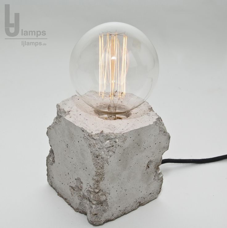 141 Gorgeous Desk Lamp Designs: 1000+ Images About Beton Lampe