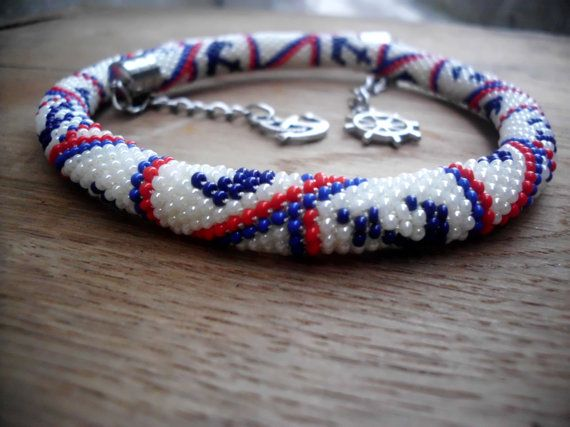 Sailor çapa kolye tasarımları / Giyilebilir sanat / Gümüş renkli kapaklar / Çapa cazibe zincir toka ettik.