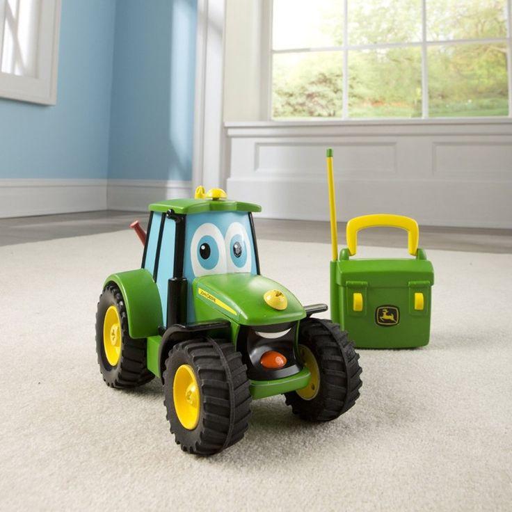 Farm Tractor Electronics : John deere rc fix it up talking tractor playset