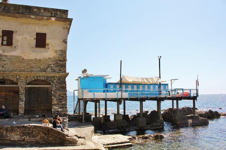 stabilimento balneare di Capo santa chiara
