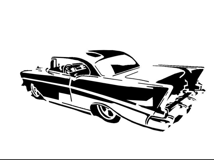 Gallery 57 Chevy Bel Air Drawing