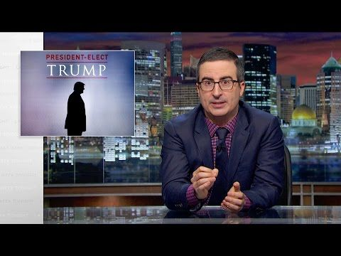 John Oliver: We Must Fight Trump, a 'Klan-Backed Misogynist Internet Troll' - The Daily Beast