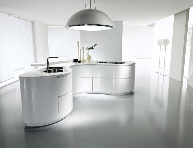 68 best images about Küchen on Pinterest | Kitchens, Modern ... | {Küchen mit kochinsel modern 56}