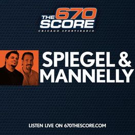 Dave Spiegel and former Bear Patrick Mannelly. This grew to be my favorite Chicago Sports show. I'm not sure if Mannelly is on when the Bears aren't playing, but it's a great show to listen to during Bears season!