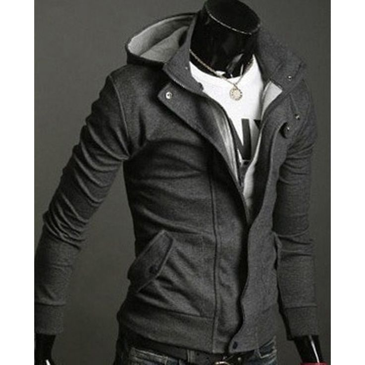 This quilted Long Sleeve Mens Jacket is made from Cotton in size S, M,