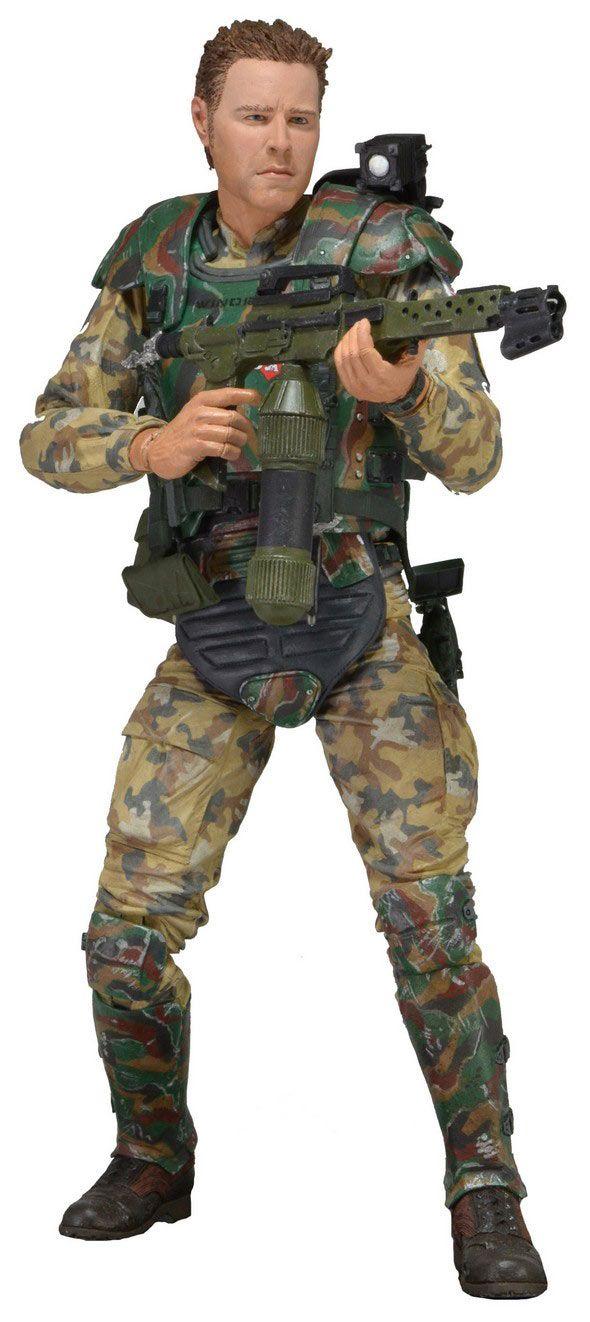 Figura Sargento Craig Windrix, 18cm Aliens el Regreso Serie 2 Figura de 18cm perteneciente al Sargento Craig Windrix, de Aliens el Regreso.