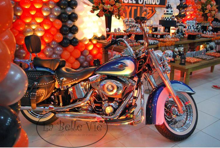 La Belle Vie Eventos: Harley Davidson - 3 anos do Miguel