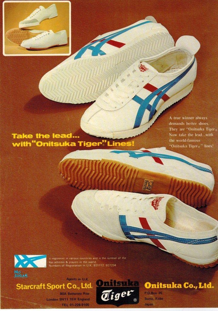 cb6deec97154 1973 Onisuka Tiger advert