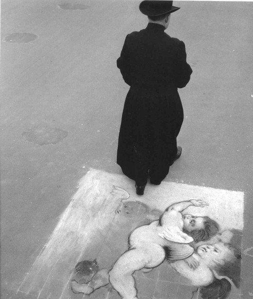 Paris, 1940s - 1950s, by Robert Doisneau