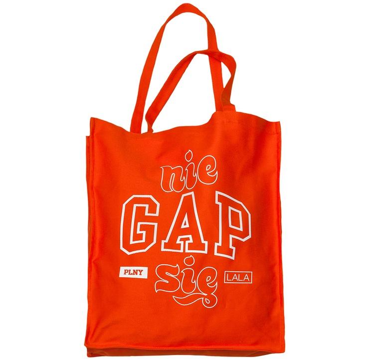 PLNY LALA: Nie Gap Się Bag