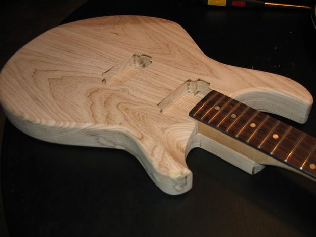 how to make a guitar out of wood