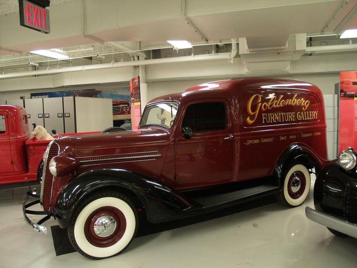 1934 Dodge Humpback Panel Truck Autos Post