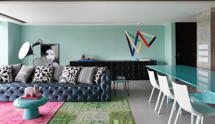 Candy colourmodern..this is cool!: Studios Guilherm, Living Rooms, Apartment Interiors, Houses Studios, Apartment Design, Interiors Design, Guilherm Towers, Rl Houses, Sofas Pillows