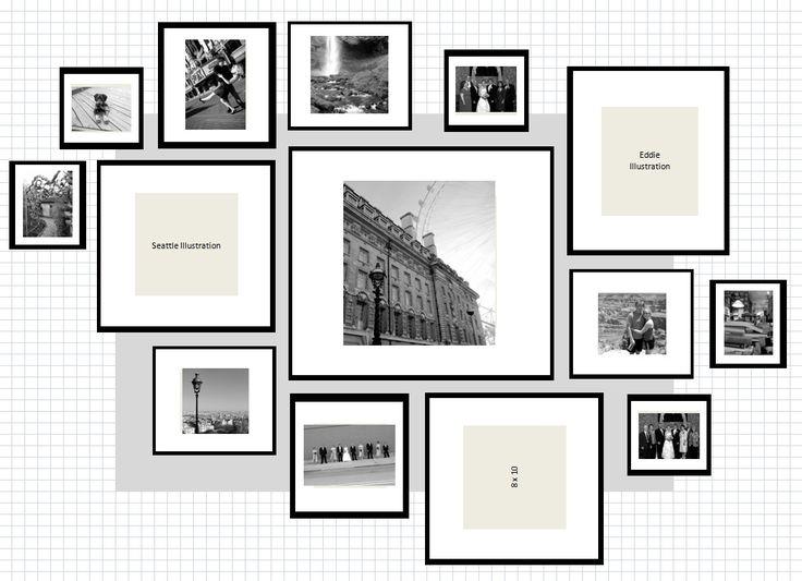 Consigli idee come appendere quadri pareti composizioni for Appendere quadri ikea