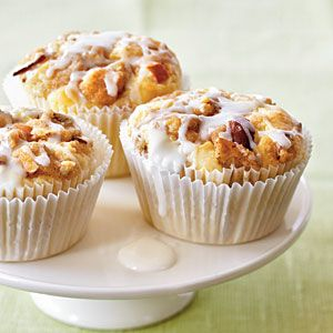 Amaretto Apple Streusel Cupcakes - Best Healthy Apple Recipes - Cooking Light