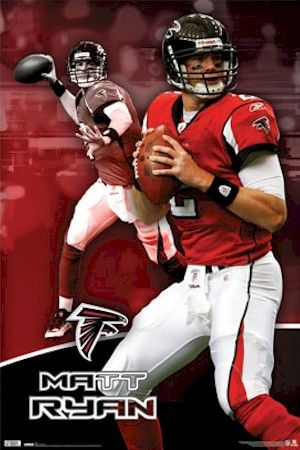 NFL - Atlanta Falcons Matt Ryan Focus Football Poster